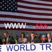 Obama Signs the ( I ) Beam - One World Freedom Tower Hidden Message Revealed (Video)